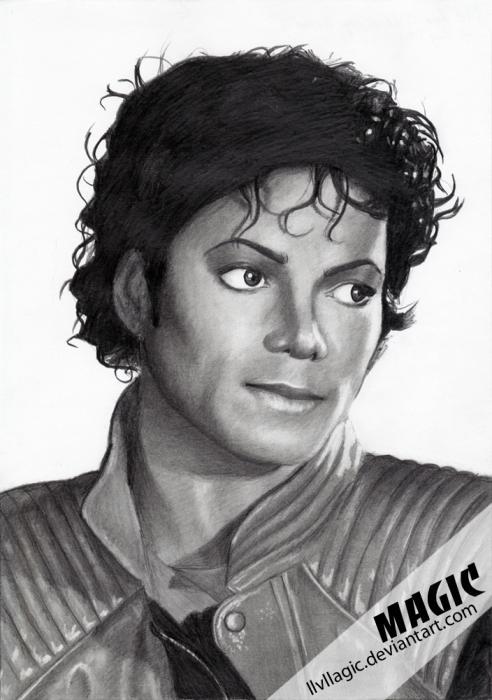 Michael Jackson par magic